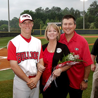 2012 North Gwinnett Baseball Senior Night